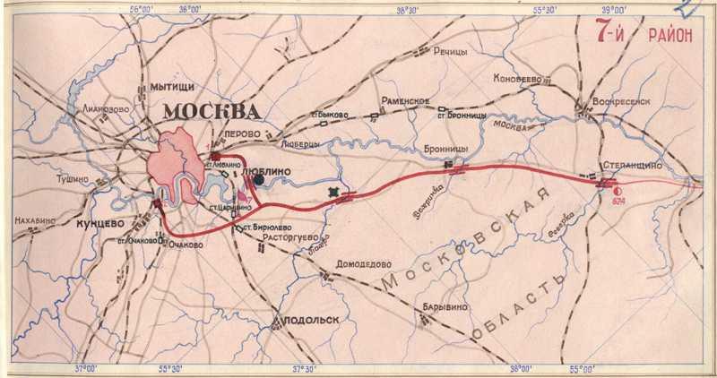 Схема газопровода московской области